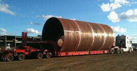Aire vent casing 5.2 diameter, 14m long, 26 tonne